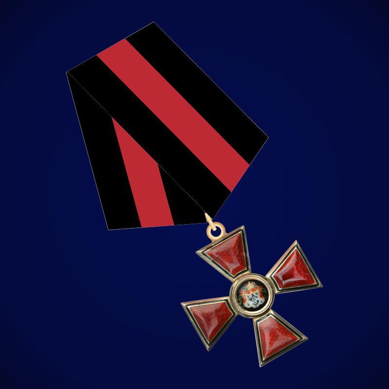 Знак ордена Святого Владимира 4 степени