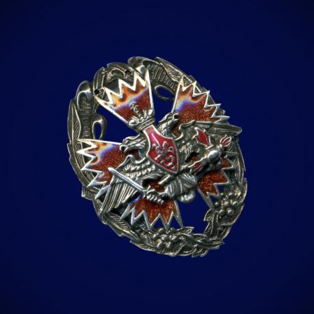 Знак отличия офицеров ГУ ГШ ВС (орел ГРУ)