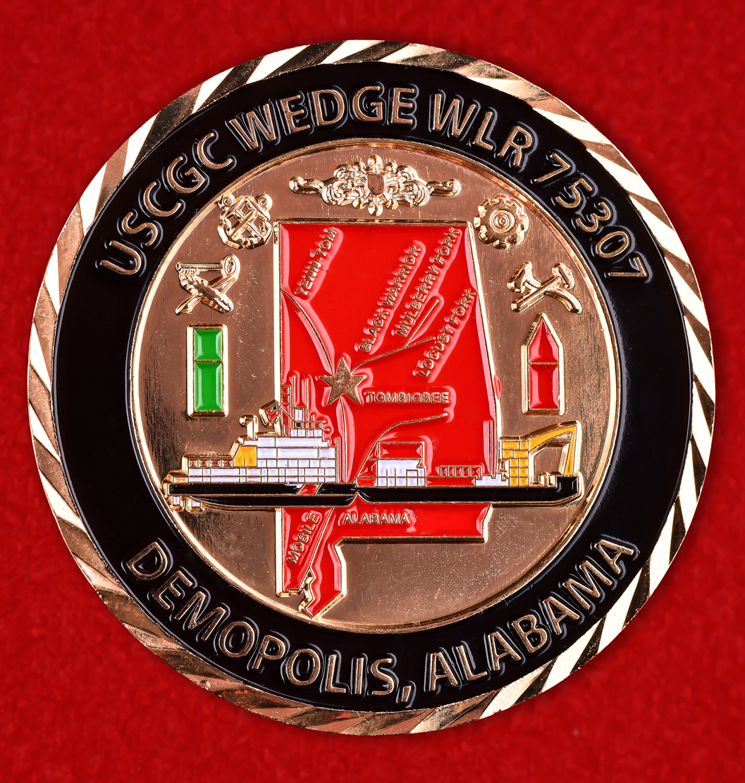 Знак отличия в службе катера Wedge (WLR 75307) Береговой охраны США