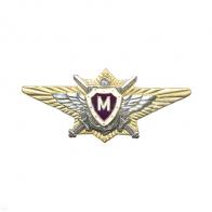 Знак отличия ВС РФ офицерская классность Мастер