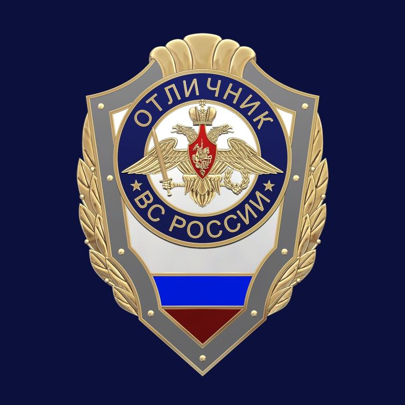 Знак Отличник ВС России