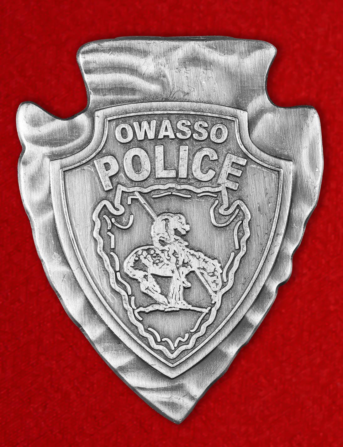 """Знак полиции США """"Департамент Овассо"""""""
