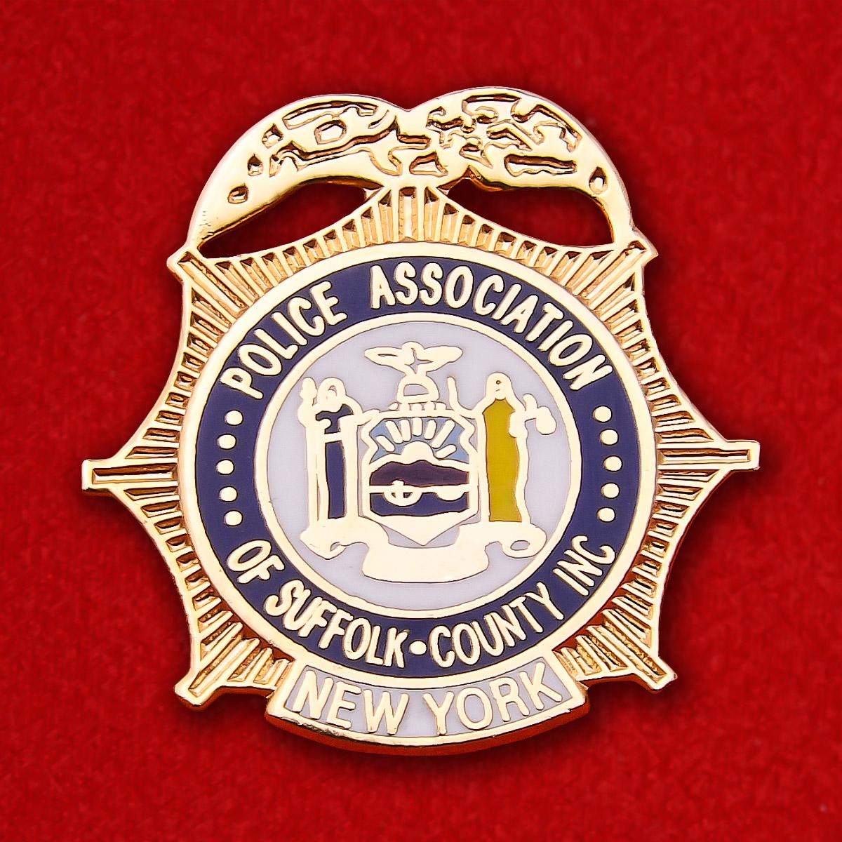 """Знак """"Полиция округа Саффолк, штат Нью-Йорк"""""""
