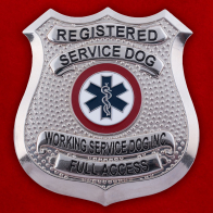 "Знак ""Registered Service Dog"""