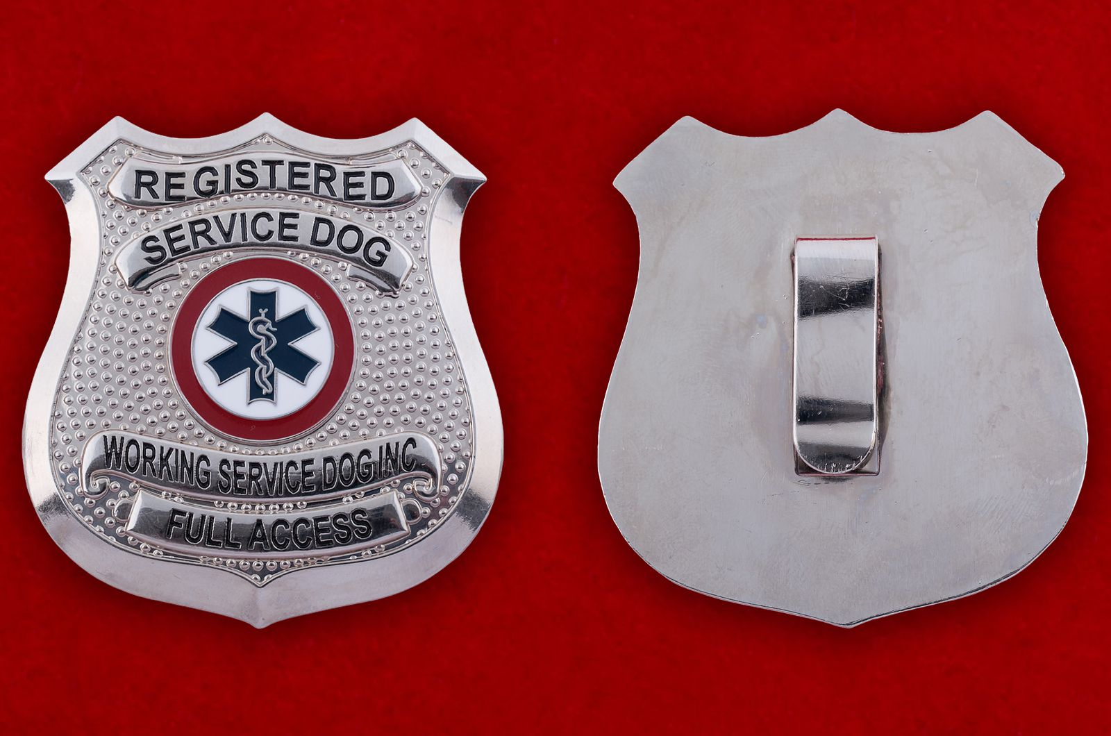 "Знак ""Registered Service Dog"""