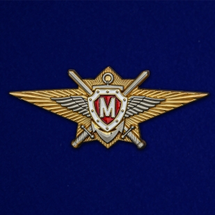 Знак Росгвардии Классная квалификация Мастер - аверс