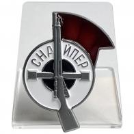 Знак Снайпер на подставке
