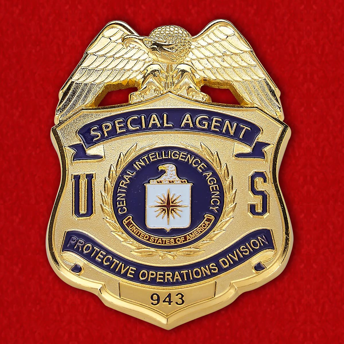 Жетон специального агента ЦРУ