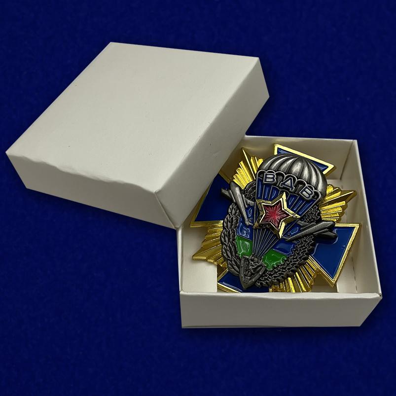 Знак ВДВ СССР на подставке - в коробочке