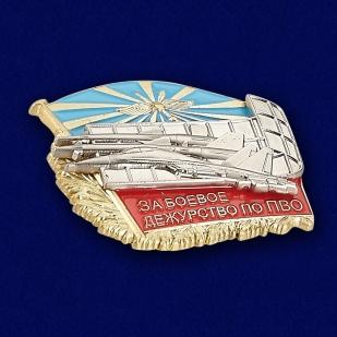 Знак ВКС За боевое дежурство по ПВО МО РФ