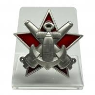 """Знак """"За отличную морскую боевую подготовку"""" на подставке"""