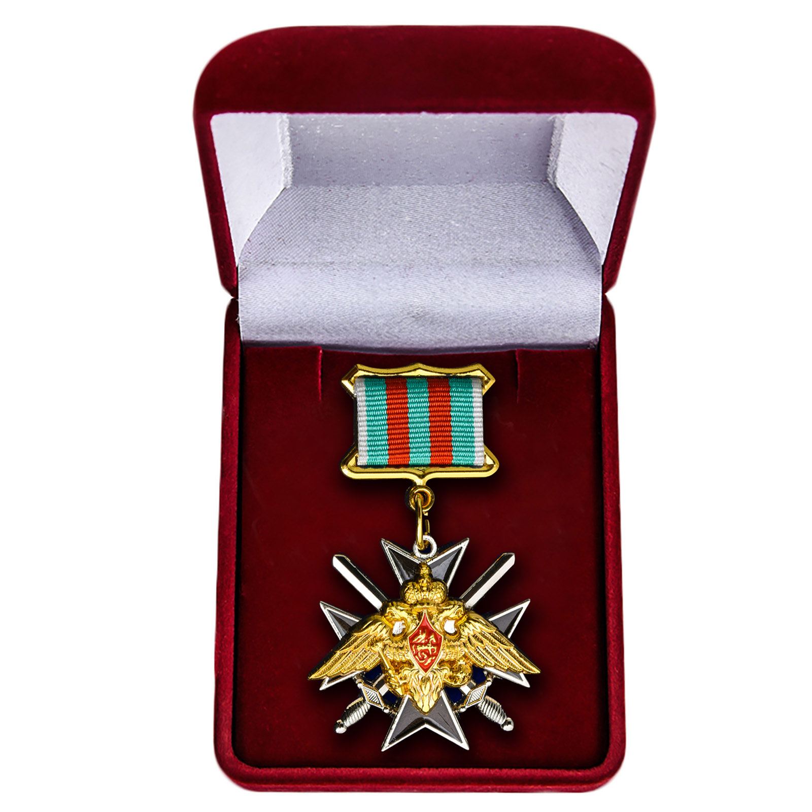 """Знак """"За службу в Таджикистане"""" в футляре"""