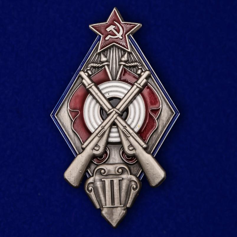 Знак За стрельбу из винтовки на обязательных стрелковых соревнованиях РККА