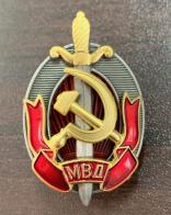Знак Заслуженный работник МВД