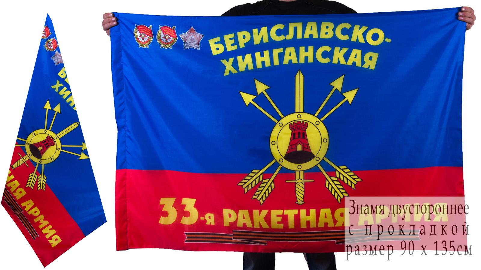 Знамя 33-ой ракетной армии РВСН