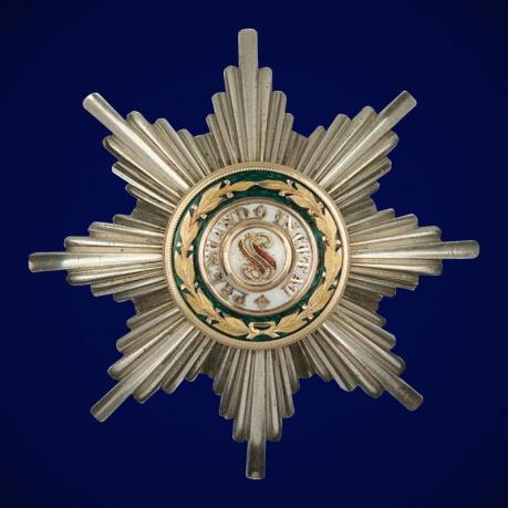 Звезда ордена Святого Станислава