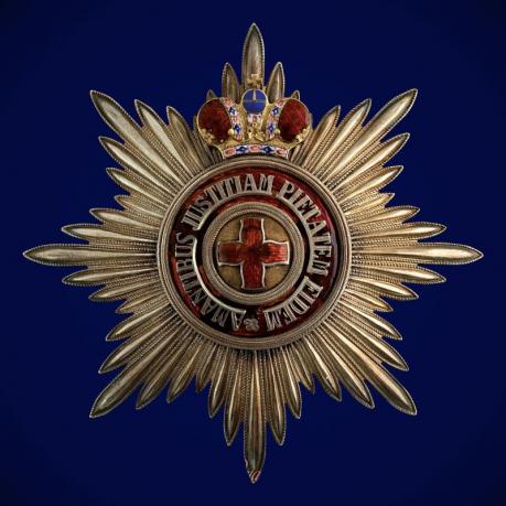 Звезда ордена Святой Анны (с короной)
